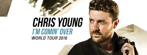 Chris Young - I'm Comin' Over World Tour 2015